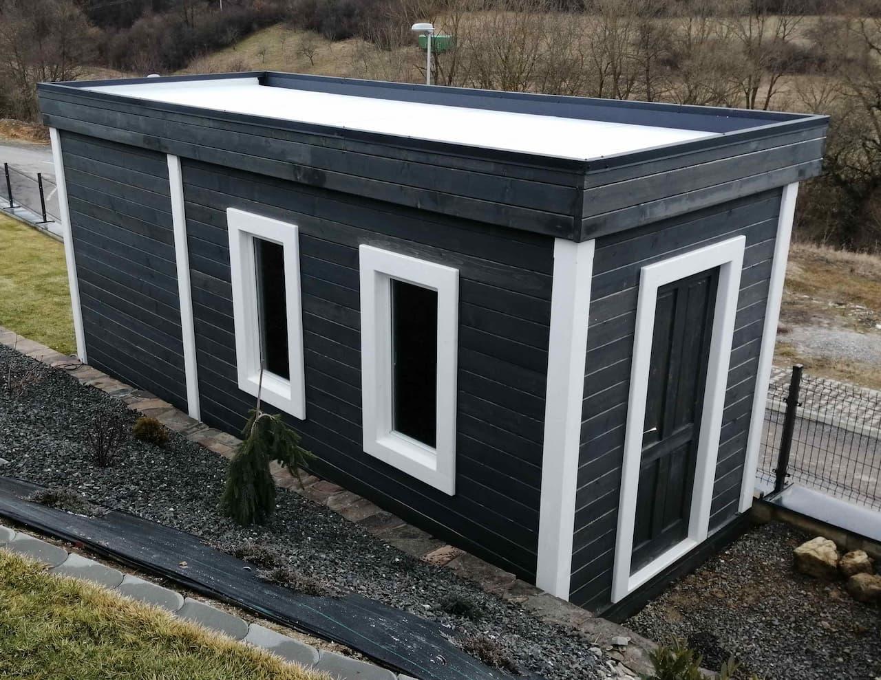 Záhradná chatka - sauna